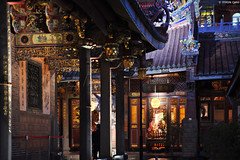 台北・大龍峒保安宮 ∣ Baoan temple・Taipei (Iyhon Chiu) Tags: 台北 保安宮 baoan temple taipei night 夜 台灣 大龍峒 台北市 寺廟 廟 廟宇