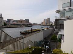 P1004158 (digitalbear) Tags: panasonic lumix gh5 sumida river kiyosumi garden eidai bridge tokyo japan sharehotel lyuro skytree fukagawameshi miyako yakatabune
