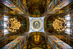 Luxury and faith. (mzagerp) Tags: saint petersbourg petersburg russia russie cathedrale orthodoxe catholique issac trinité peterhof chateau castle spilled blood our savior canaux venise bateau gold sunset