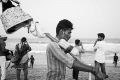 Marina Beach, Chennai, 2017 (bmahesh) Tags: marinabeach chennai tamilnadu india people beach life street ricohgr wwwmaheshbcom