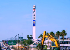 WESH TV (Chris C. Crowley- Always behind but trying to catc) Tags: weshtv channel2 dopplarradar tower satellitetower broadcasting helicopter crane traffic i4 rushhour palmtrees highway construction parkinggarage 1021wymorerdwinterparkfl32789 orlandoarea