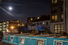 Regent's Canal (8) (tullio dainese) Tags: 2017 london canale barca channel boat notte night