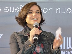 Lana Parrilla (Sirka Delgato) Tags: lanaparrilla seanmaguire rebeccamader gilmckinney beverleyelliot faustinodibauda storytellingcon storytelling barcelona castelldefels spain convention onceuponatime