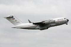 KAF343 C-17A (Ian Tate) Tags: newcastleinternationalairport ncl egnt kaf343 boeingc17aglobemasteriii kuwaitairforce 130002