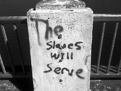 The Slaves Will Serve (Rossdxvx) Tags: iphone portland pacificnorthwest portlandoregon portlanddecay decay decaying dilapidated dilapidation blackandwhite noir urban urbandecay 2012 oregon