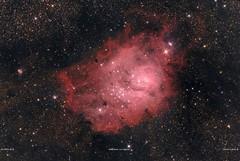 M8 o Nebulosa La Laguna (ACHAYA - Astrofotografías) Tags: m8 nebulosa la laguna achaya pochoco