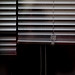 Jalousie (zeh.hah.es.) Tags: fenster window schwarz black grau gray grey ktzh schweiz switzerland wil horizontal horizontale horizontals