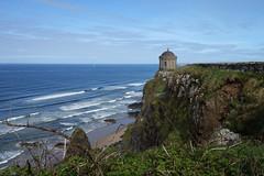 Mussenden Temple (Philip McErlean) Tags: mussenden temple downhill demesne castlerock coderry londonderry northcoast northern ireland sea cliff sky blue