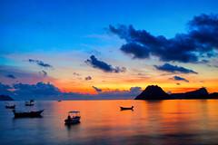 Thailand,Prachuap Khiri Khan (Alex Dansai) Tags: sunrise thailand bay marine sony tamron serene longexposure
