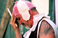 ARF2014TWMedit-16 (MegzyTred) Tags: arf2014 spring megzytred cliftonportraits 2014 wyldmen thewyldmen wyld men mud smiles jimi humor comedy friends brilliance makeyousmile arizonarenaissancefestival faire arizona ren fest renaissance renaissaince rennaisance az