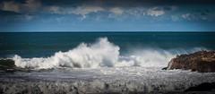 Breaker 02 @ Pescadero State Beach (Charlie Day DaytimeStudios) Tags: beach clouds highway1 landscape ocean pacificcoast pacificcoasthighway pch pescaderoca pescaderostatebeach sky water