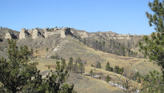 View at Chadron State Park (tigerbeatlefreak) Tags: chadron state park landscape hills nebraska pine ridge