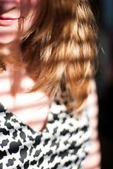 Day 62, Year 10. (evilibby) Tags: 365 36510 365days 365days10 libby blonde shadow shadows sunshine bright messyhair