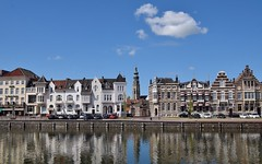 Loskade met Lange Jan Middelburg (eddespan (Edwin)) Tags: middelburg zeeland holland nederland niederlande netherlands paysbas binnenstad schilderachtig kannaldoorwalcheren langejan loskade kanaal