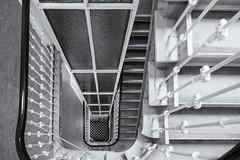 Checkerboard (michael_hamburg69) Tags: hamburg germany deutschland hansestadt stairs treppe stairway jungfernstieg jungfernstieg48 staircase fahrstuhl schachbrettmuster checkered pattern elevator lift