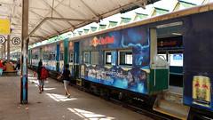 Yangon Central Railway Station - Myanmar (Laszlo Bolgar) Tags: centralrailwaystation circulartrain myanmar yangon mmr