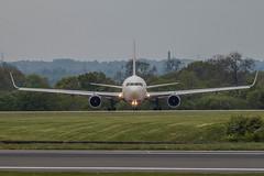 Delta (21mapple) Tags: delta manchester manchesterairport airport aircraft airplane aeroplane plane window wing engine jet