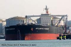 Atlantic Pioneer (andreasspoerri) Tags: atlanticpioneer imo9397145 isleofman namuraimari rotterdam tanker vlcc