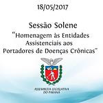 Sessão Solene - Doenças Crônicas 18/05/2017