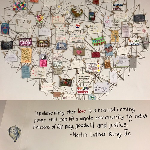"""""""I believe firmly that love is a transforming power that can lift a whole community to new horizons of fair play, goodwill, and justice."""" —Martin Luther King, Jr."""