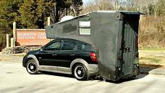Pontiac Vibe RV.. (Dave* Seven One) Tags: pontiac vibe 18l wagon car rv conversion