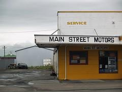 Foxton (paulhamernz) Tags: handpaintedsign typography autorepairs newzealand mechanic garage foxton