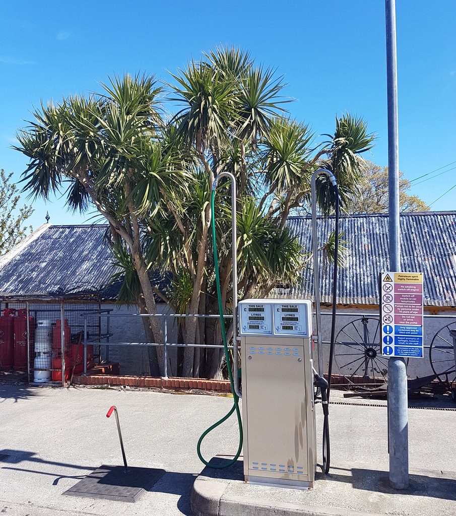 What every mircolighter on holiday needs - petrol and palm trees