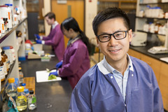 Xiangyu Deng (UGA College of Ag & Environmental Sciences - OCCS) Tags: xiangyudengenvironmentalresearchportrait food microbiology pathogens foodborne illness salmonella bioinformatics ugacollegeofagriculturalandenvironmentalsciences ugagriffincampus