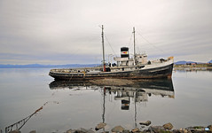 San Christopher (YellowSingle 单黄) Tags: wreck san christopher boat patagonie beagle canal land of fire argentina nikon