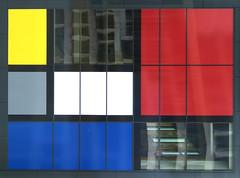 Mondrian Front (YIP2) Tags: thehague denhaag mondriaan mondrian destijl architecture art minimal minimalism simple facade lines
