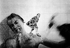 Psycho scribble tutorial (skye-skye) Tags: photoshop beginner edit ps psycho slasher cut knife kill shower normanbates horror funny comedy humor slash shaving scary