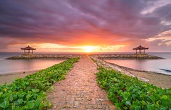 Way to heaven (jaywu661) Tags: clouds sunrise destination nisifilter nisi ocean sea water explore inexplore alone beautiful indonesia longexposure seascape landscape beach sanur sonya7r sony dawn morning skyline sky travel bali