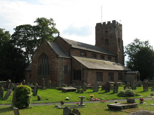 Farndon: Church of St Chad (Cheshire)