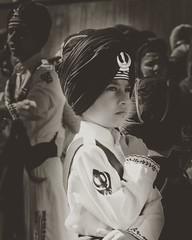 Young Sikh Boy at Southall Nagar Kirtan #sikh #sikhism#gatka (mraj october) Tags: instagramapp square squareformat iphoneography uploaded:by=instagram reyes