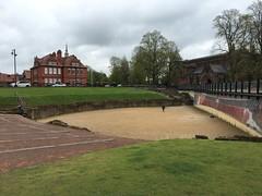 IMG_1742 Roman amphitheater, Chester, UK (2) (archaeologist_d) Tags: chester england uk romanamphitheatre romanruins archaeologicalsite archaeologicalruins