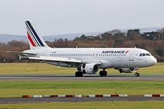 F-HEPE Airbus A320-214 Air France MAN 18FEB19 (Ken Fielding) Tags: fhepe airbus a320214 airfrance aircraft airplane airliner jet jetliner