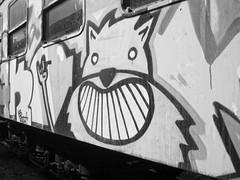 Graffiti (lukacsmate18) Tags: abandoned passenger wagon graffiti mav art hungary