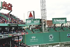 Coke, Citgo and the Monster (bpephin) Tags: boston fenway mlb baseball game redsox citgo coke cocacola monster green