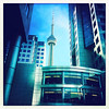 The Tower, Toronto. (pixelsnap) Tags: photoshopprocessing hipstamaticapp iphone6s cntower toronto ontario canada pixelsnap