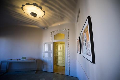 Oak doors carved by Gaudi