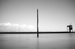 Old Beacon (James-Crawshaw) Tags: rye harbour ryeharbour longexposure nd neutraldensity fuji x100 blackandwhite bnw mono monochrome