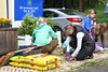 Volunteers Weed the 1907 Brick Apron (Jay Heritage Center) Tags: ilovemyparkday2017 ryenewyork jayheritagecenter ilovemyparkday