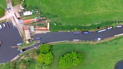 Titchmarsh Lock (Martin Sutton) Tags: titchmarsh lock thorpewaterville northamptonshire aerial dji rivernene
