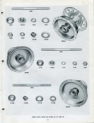 Schwinn Catalog - Bicycle Parts & Accessories - 1948/49 - Page 25 (Zaz Databaz) Tags: schwinn schwinncatalog 1948 1949 40s 1940s bfgoodrich