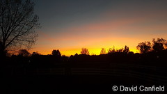 May 3, 2017 - A beautiful Broomfield sunset. (David Canfield)