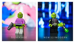[DC] 12th Level Intellects (| Jonathan |) Tags: purist figbarf minifigures custom superheroes new52 silverage legobatman3 12thlevelintellect thecollectorofworlds supermanvillain brainiac dccomics lego