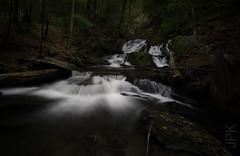 Tannery Falls, Savoy, MA (koperajoe) Tags: stone westernmassachusetts deepwoods stream berkshires rocks longexposure nd8 cpl waterfall forest gorge sonya6000 vernal brook newengland samyang