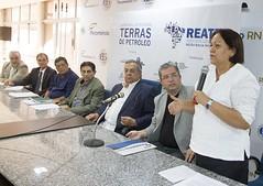 Senadora Fátima Bezerra em seu discurso