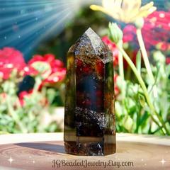 Smoky Quartz Crystal Point (JG Beaded Jewelry) Tags: crystals smokyquartz smokeyquartz naturalcrystals healingcrystals