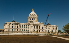 Minnesota State Capitol (Tony Webster) Tags: capitol capitolbuilding minnesota minnesotastatecapitol saintpaul stpaul statecapitol construction renovations restorations unitedstates us